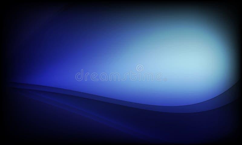 Céu noturno escuro azul violeta com muitas estrelas Fundo e papel de parede do cosmos da Via Látea ilustração do vetor