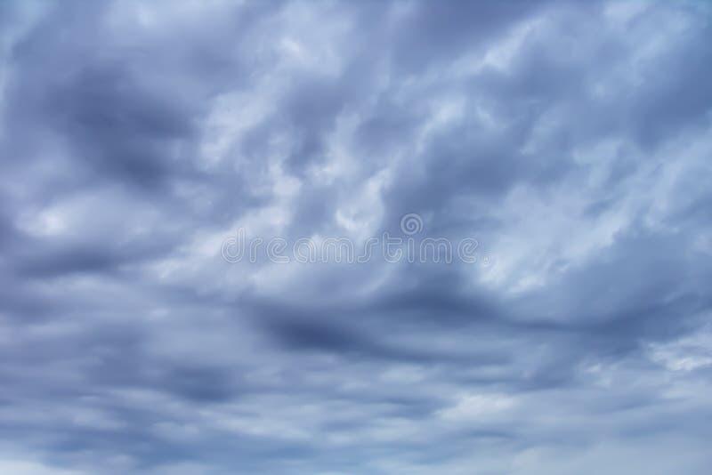 Céu nublado imagens de stock