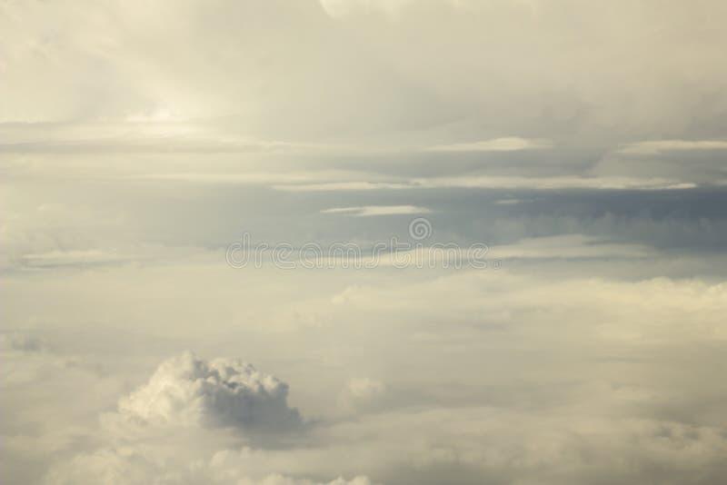Céu pesado foto de stock