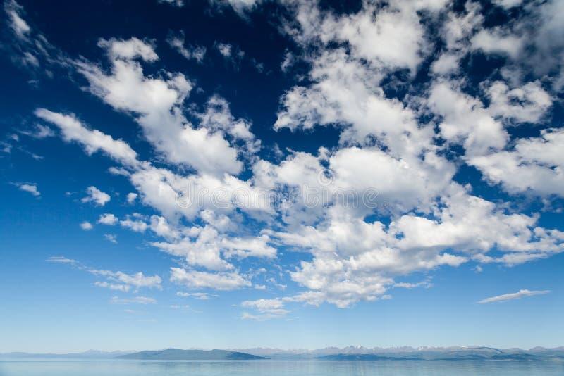 Céu profundo imagens de stock
