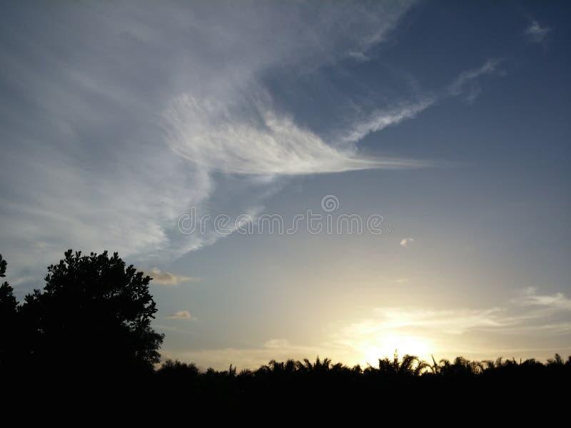 Céu secreto fotografia de stock