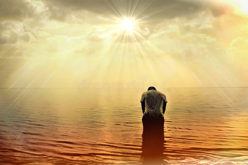 Céu, Sun, horizonte, nascer do sol