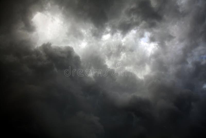 Céu tormentoso fotografia de stock royalty free