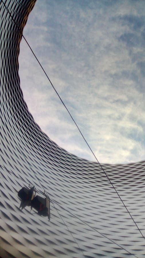 Céu vago - Messe Basileia fotografia de stock