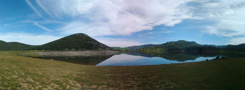 Céus da montanha de Cali imagens de stock