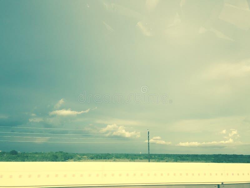 Céus do verão imagem de stock