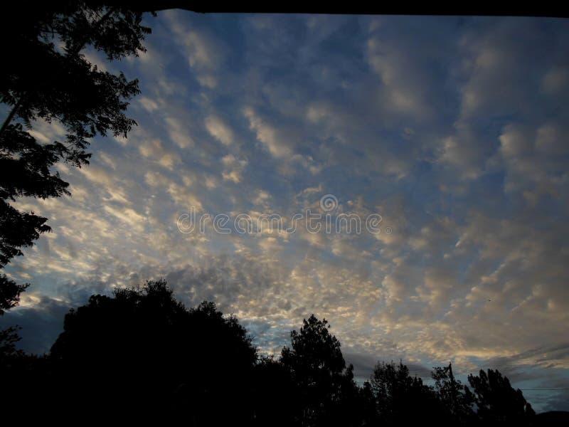 Céus do verão em Califórnia do sul imagens de stock royalty free