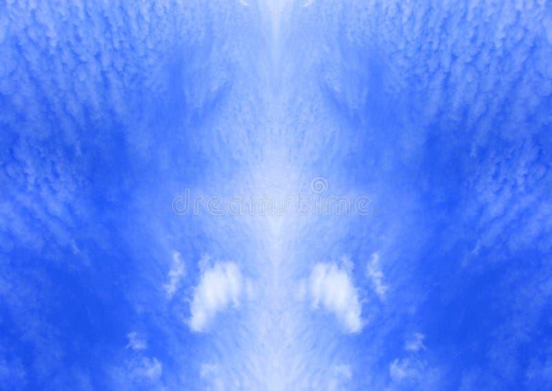 Download Céus e nuvens ilustração stock. Ilustração de céus, aberto - 536987