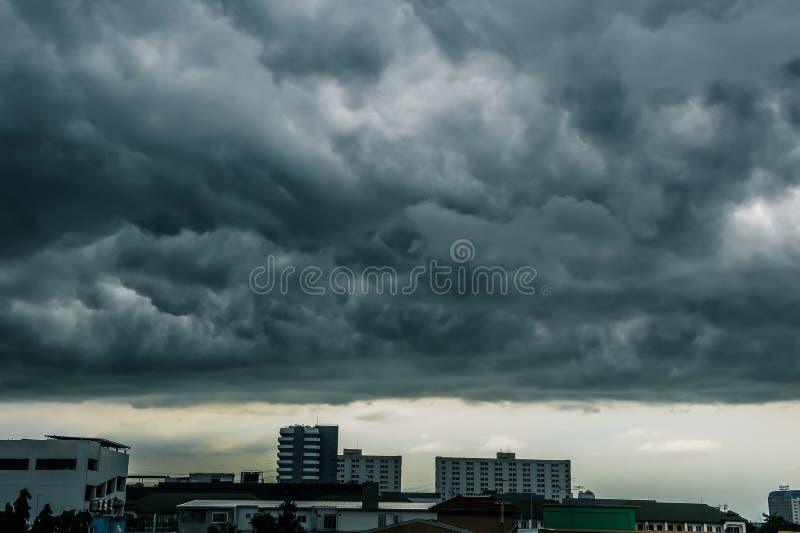 Céus nublado foto de stock royalty free