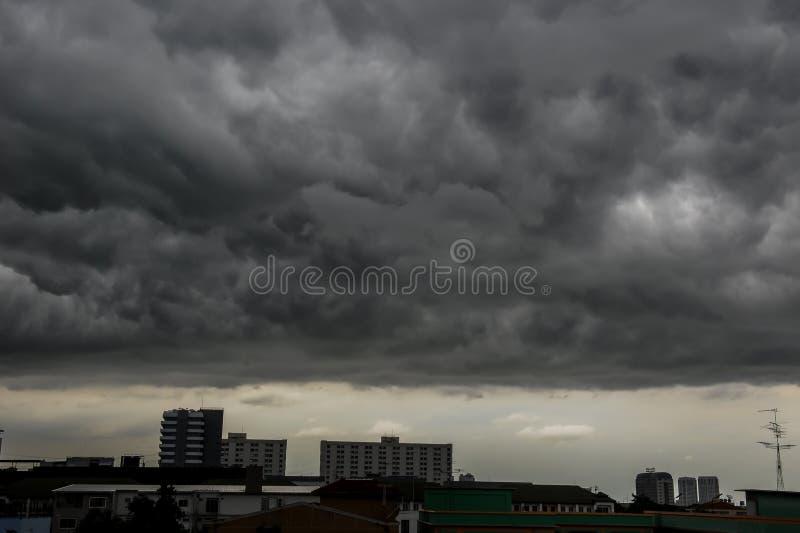 Céus nublado fotografia de stock royalty free