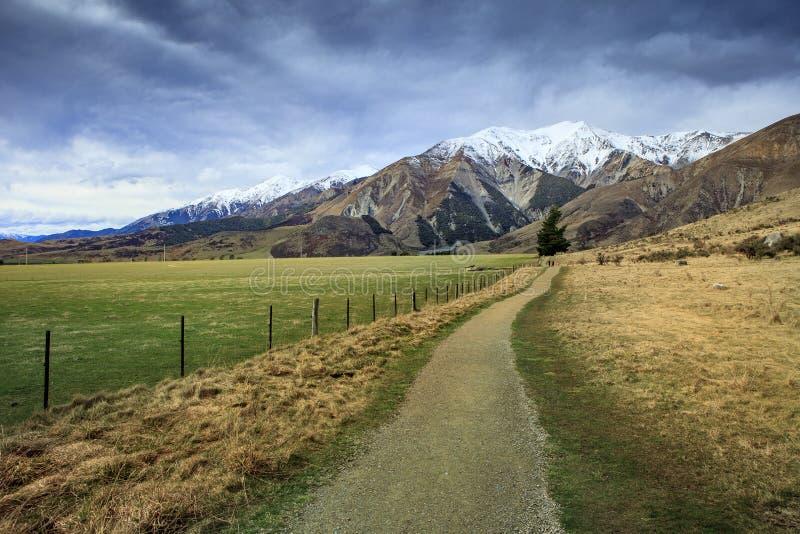 Cênico bonito do monte do castelo no parque nacional m da passagem do ` s de Arthur fotos de stock royalty free
