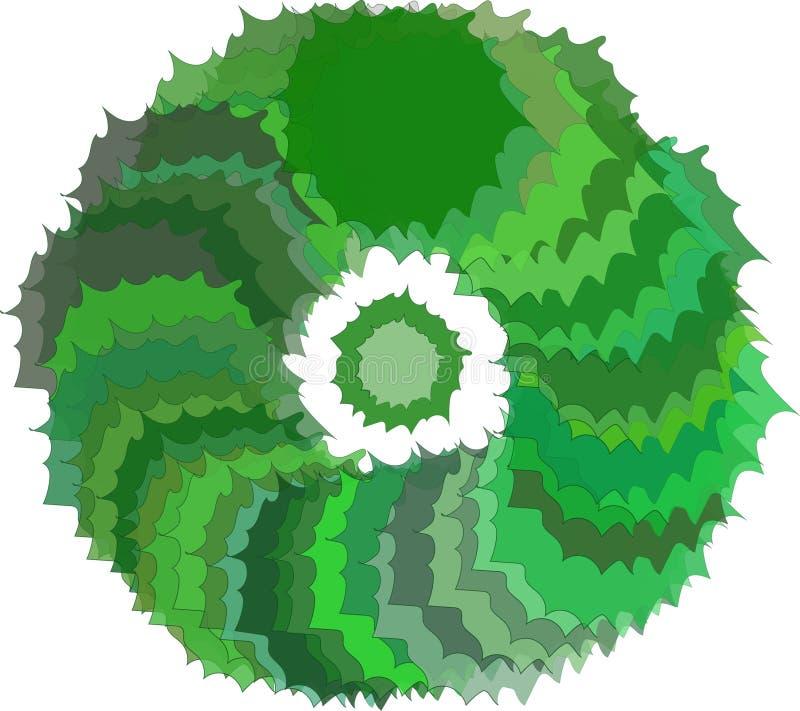 círculo stock de ilustración