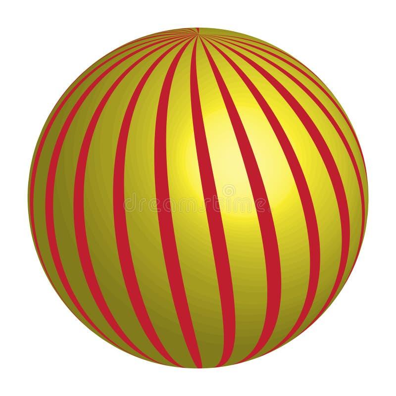 Círculo abstracto Logo Design Vector imágenes de archivo libres de regalías