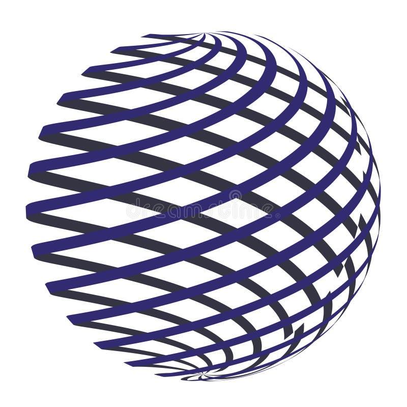 Círculo abstracto Logo Design Vector foto de archivo libre de regalías