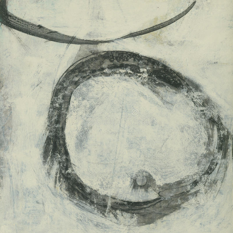 Círculo abstrato ilustração stock