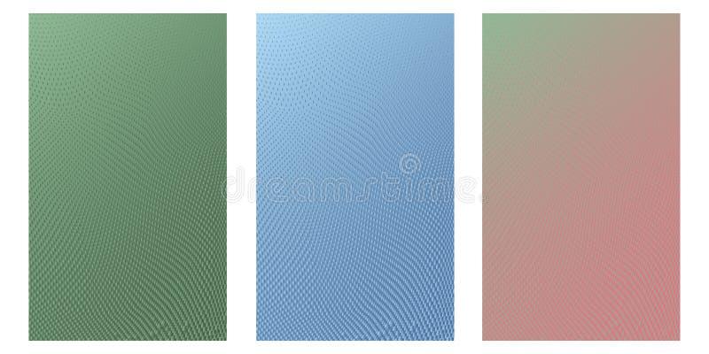 Círculo abstrato Logo Design, textura de intervalo mínimo do teste padrão Vector o fundo futurista moderno para cartazes, cartões ilustração royalty free