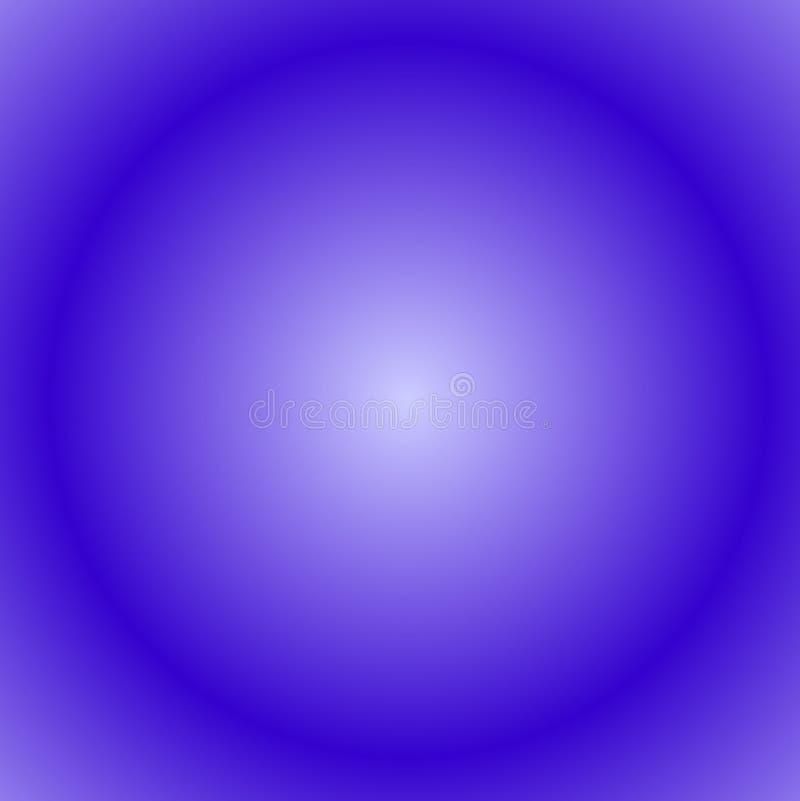 Círculo azul ilustração do vetor