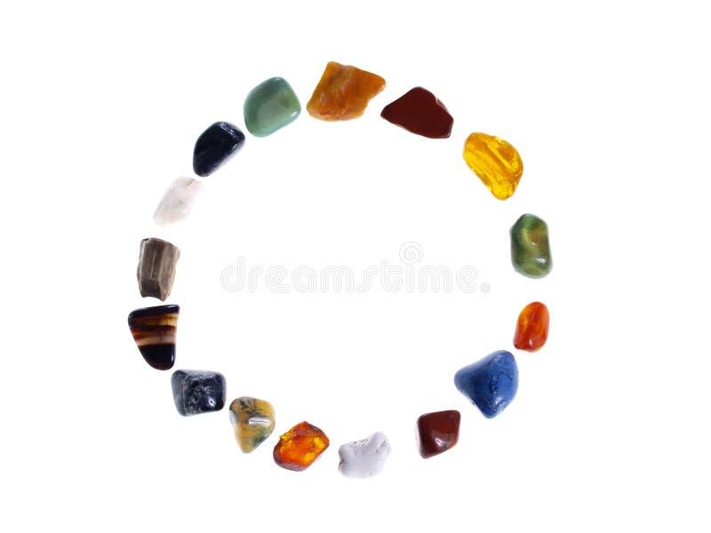 Download Círculo Das Pedras Preciosas Imagem de Stock - Imagem de cristal, ambarino: 26521773