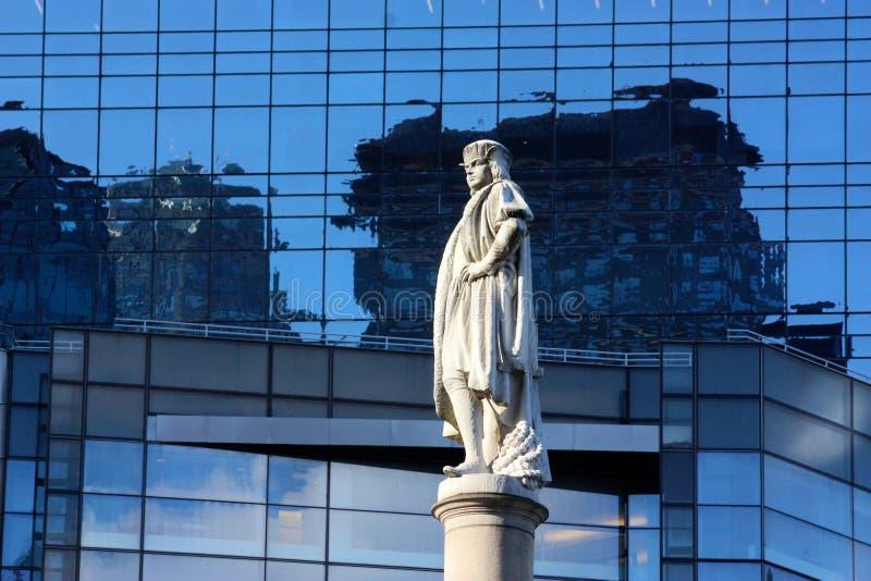 Círculo de Columbo em New York imagens de stock