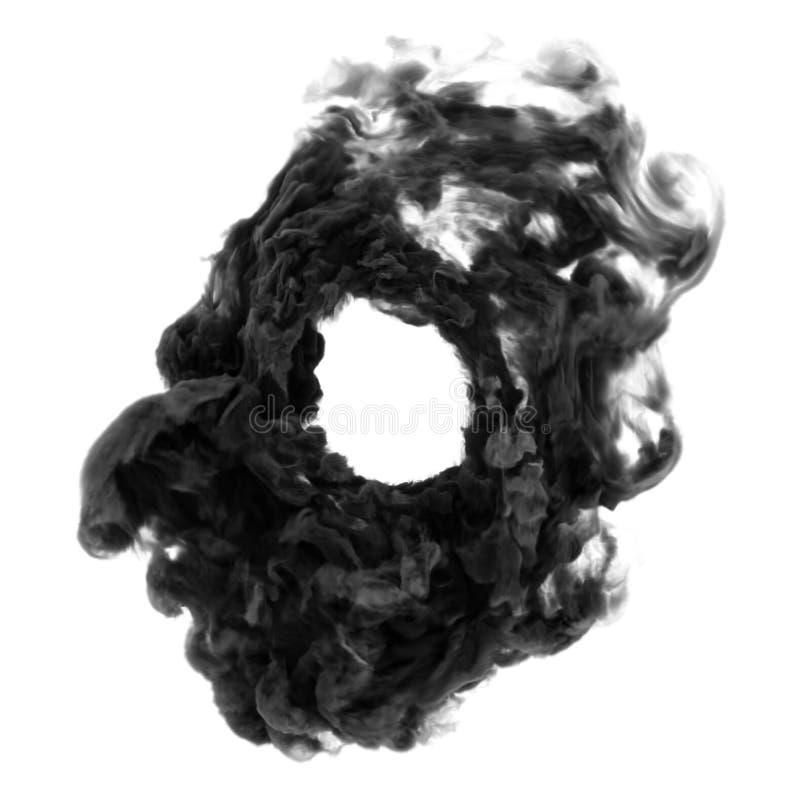 Círculo de humo foto de archivo libre de regalías