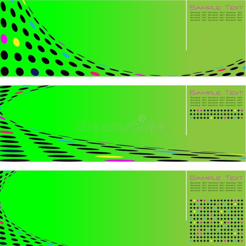Círculo de intervalo mínimo da seta ilustração royalty free