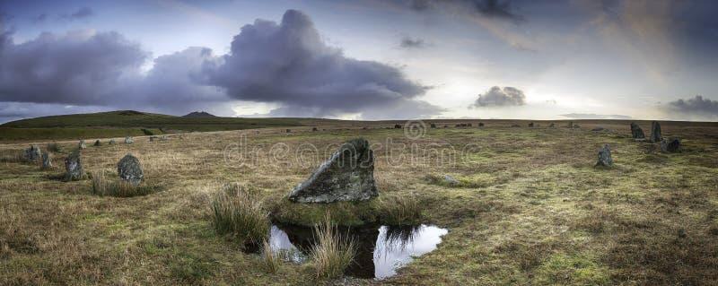 Círculo de la piedra de Stannon imagenes de archivo