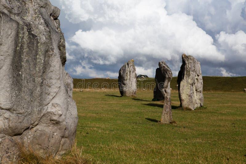 Círculo de las piedras fotografía de archivo