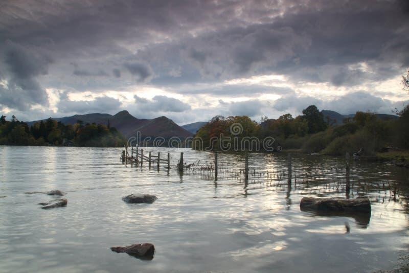 Círculo de pedra de Castlerigg fotografia de stock