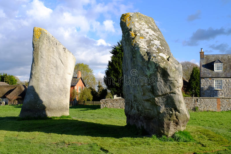 Círculo de piedra de Avebury foto de archivo