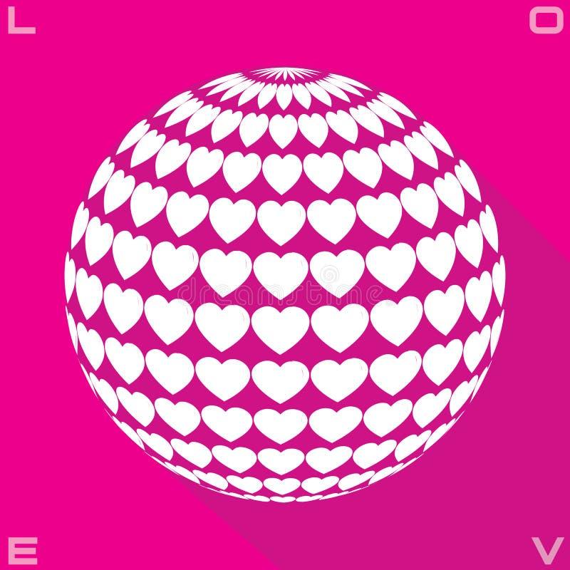 Círculo del amor libre illustration