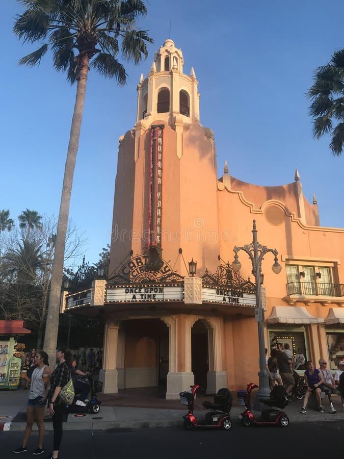 Círculo do Cathay, estúdios de Hollywood fotografia de stock
