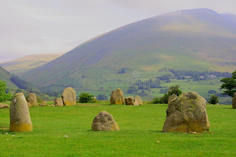 Círculo do Druid fotos de stock royalty free