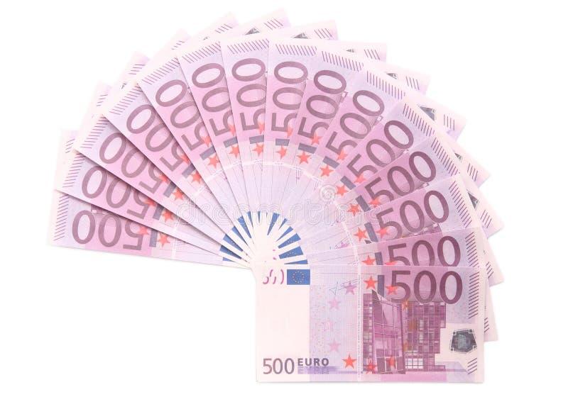 Círculo do euro fotos de stock royalty free