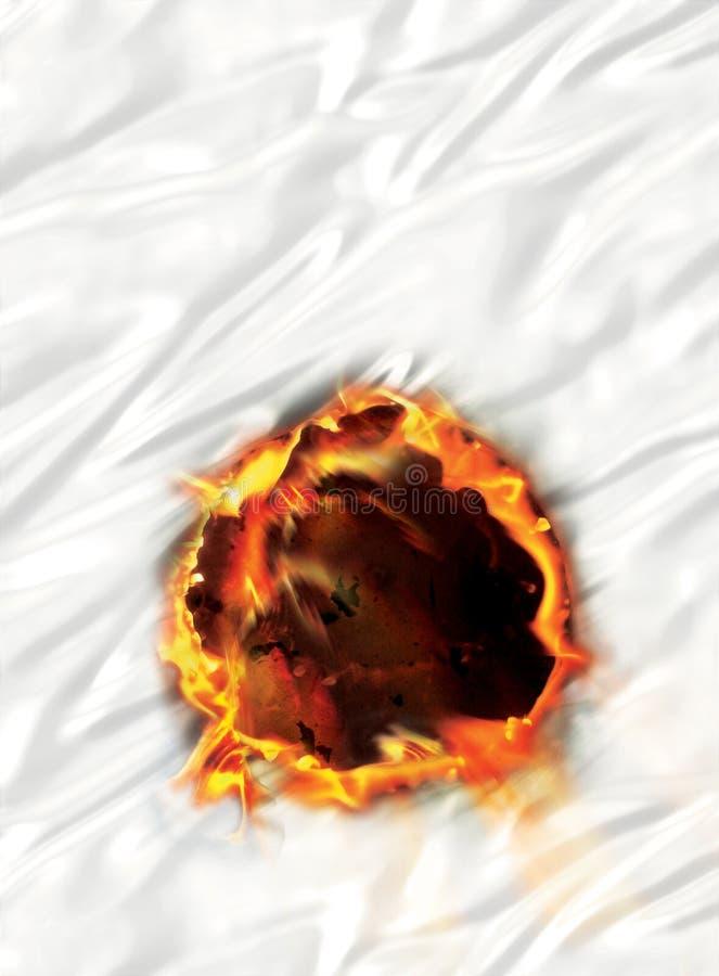 Círculo do incêndio foto de stock royalty free