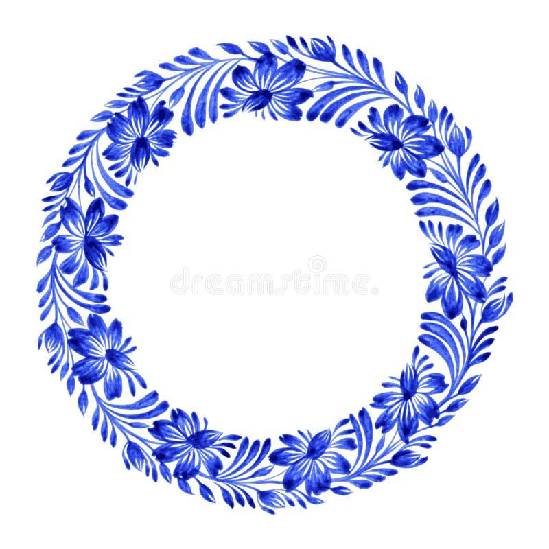 Círculo floral libre illustration
