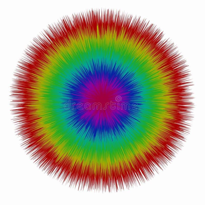 Círculo (formato do AI disponível) ilustração do vetor