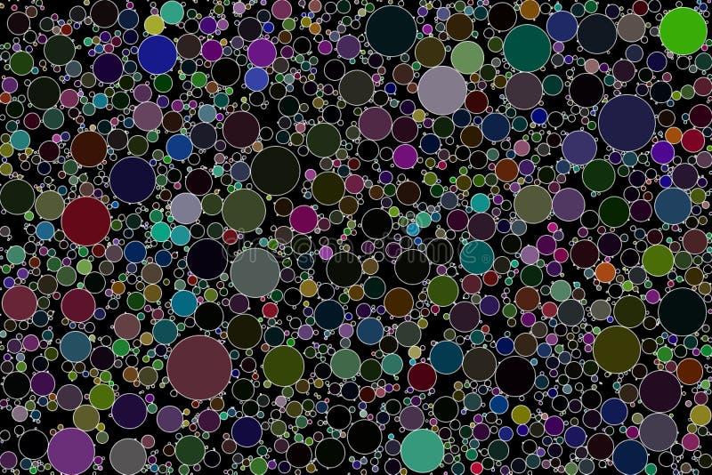 Círculo que embala imagen de fondo abstracta imagen de archivo libre de regalías
