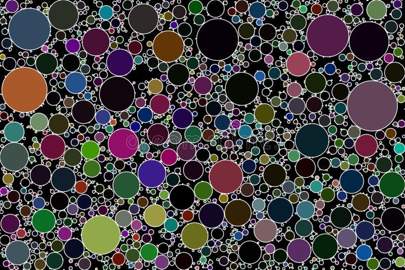 Círculo que embala imagen de fondo abstracta fotos de archivo libres de regalías