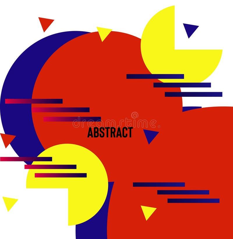 Círculo a todo color ilustración del vector