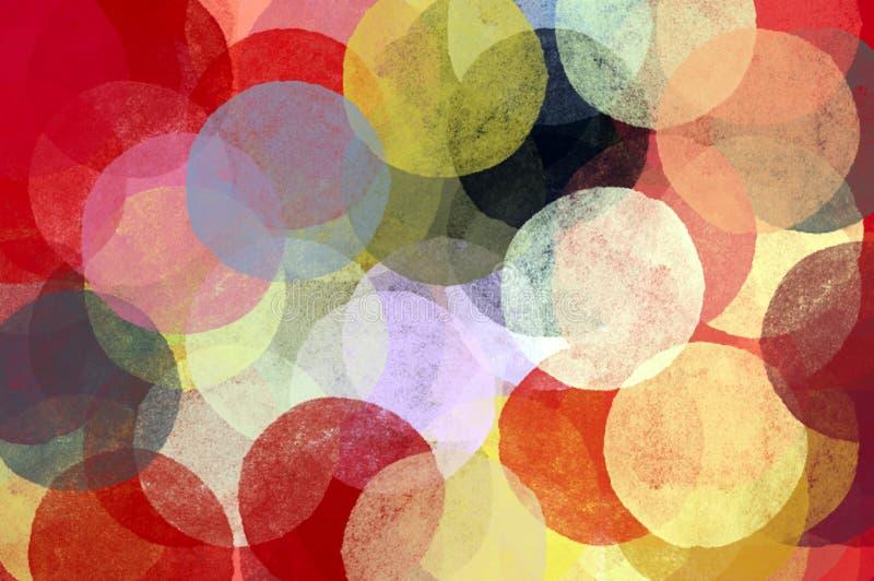 Círculos abstractos ilustración del vector