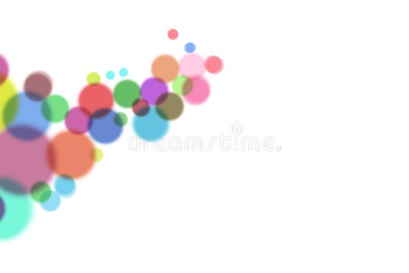 Círculos abstratos imagens de stock