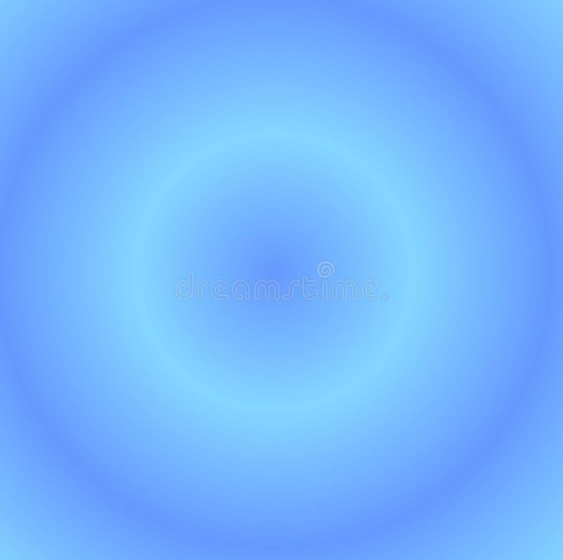Círculos azuis ilustração stock