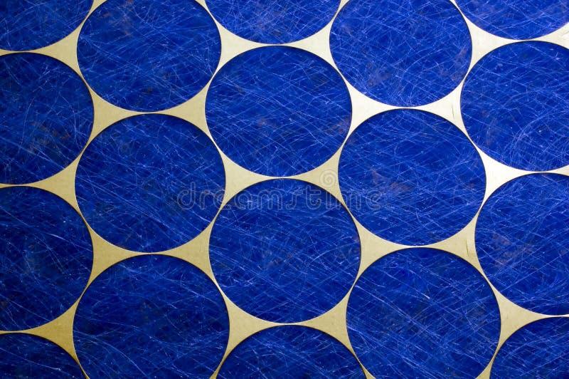 Círculos azules imagen de archivo libre de regalías