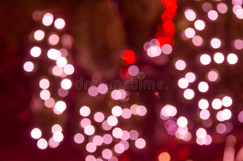 Círculos coloridos do bokeh do fundo abstrato fotos de stock royalty free