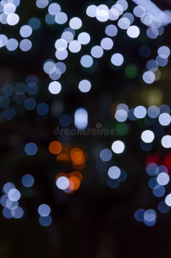 Círculos coloridos do bokeh do fundo abstrato imagem de stock