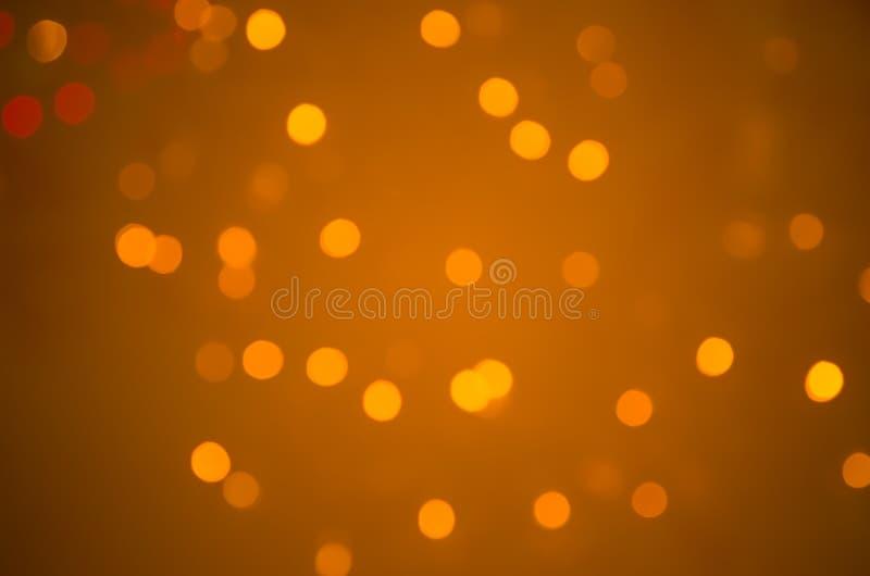 Círculos coloridos do bokeh do fundo abstrato fotografia de stock