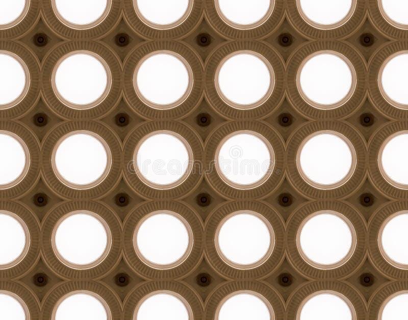 Círculos da iluminação fotografia de stock royalty free