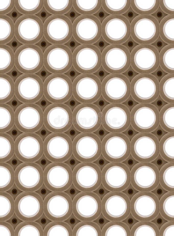 Círculos da iluminação imagens de stock royalty free