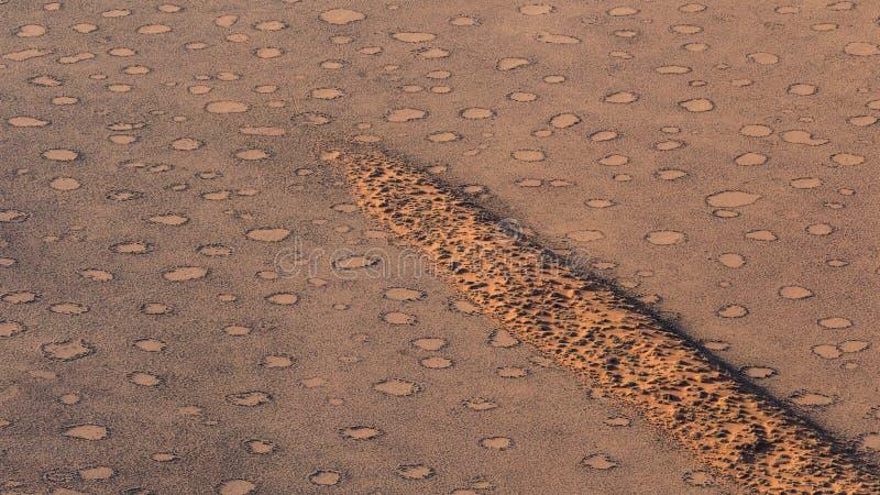Círculos de hadas, parque de Namib Naukluft, Namibia fotos de archivo