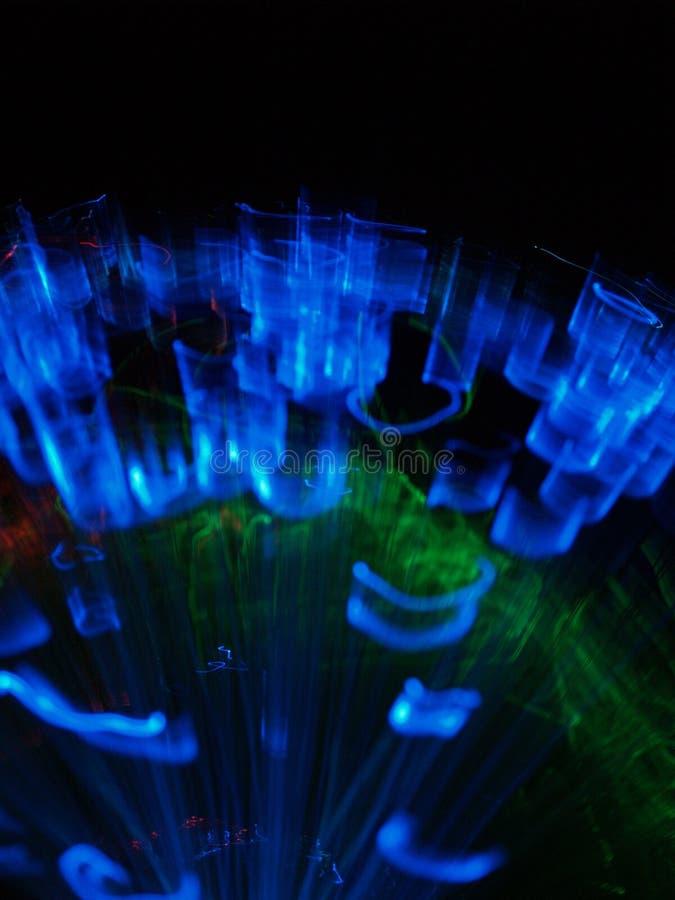 Círculos de las luces fotografía de archivo